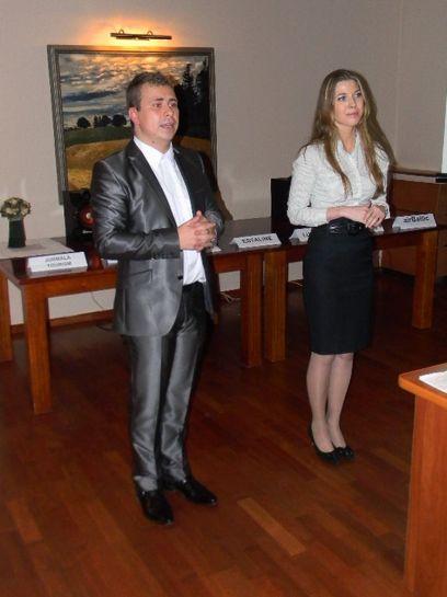 Алексей Карулис и Анастасия Лисовская (Эсталайн)