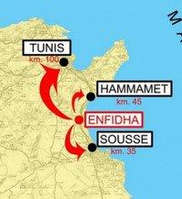 Enfidha map