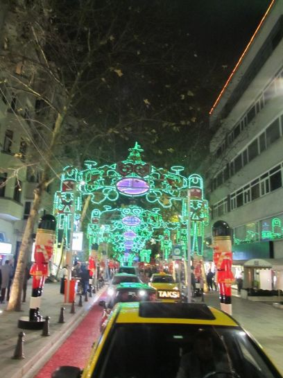 Новогодний Стамбул