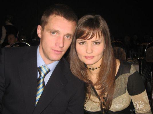 Гончаренко с женой