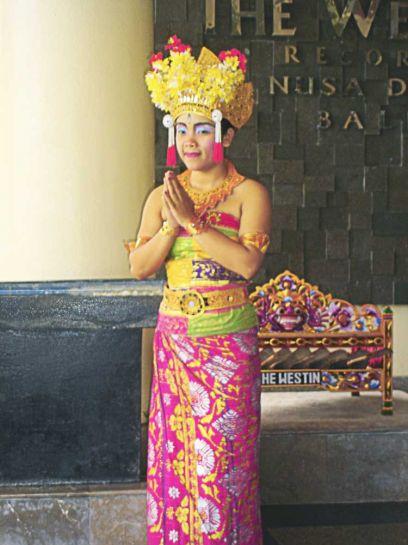 Национальный балийский костюм