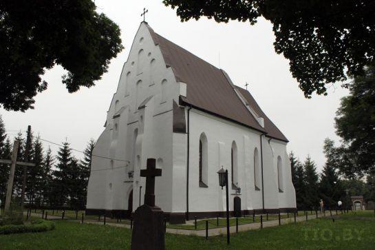 Костел Святой Троицы в Ишкольди