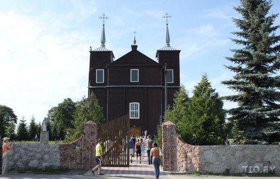 Костел Иоанна Крестителя в Волпе