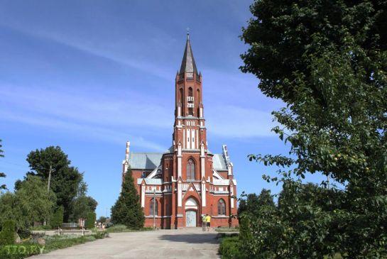 Костел Пресвятой Троицы в Шиловичах