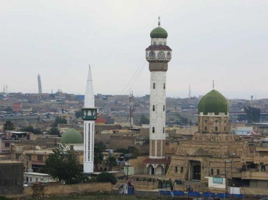 5. Панорама Мосула 52-метровый Горбатый минарет Аль-Хатба виден из любой точки города