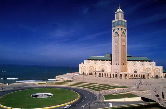 mosquee in Kassablanka