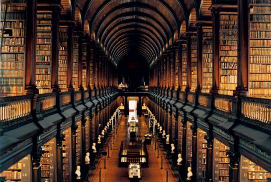 библиотека тринити колледжа