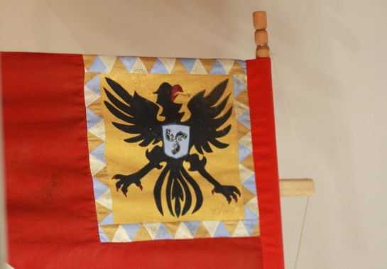герб в одном из залов