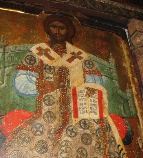 Фрески церкви Св. Стефана