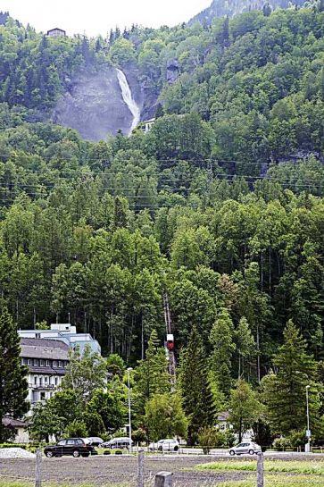 Трюммельбахский водопад чегемские