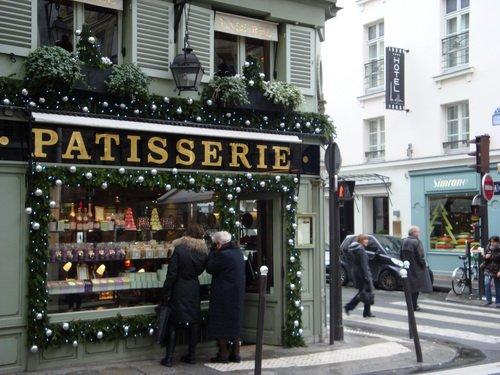 Магазин французских сладостей