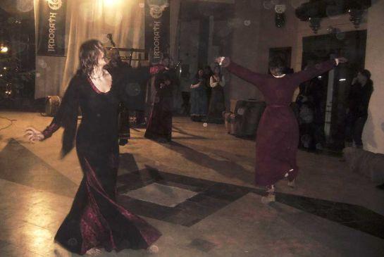 Танцы под волынку