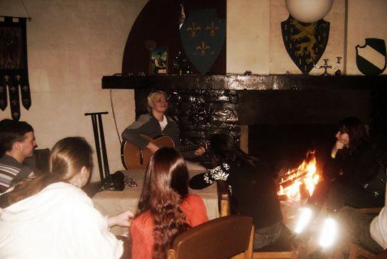 Песни у огня