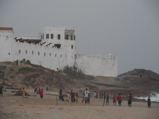 крепость-тюрьма Jamesfort в городе Cape Coast