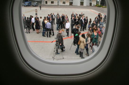 Из иллюминатора самолета