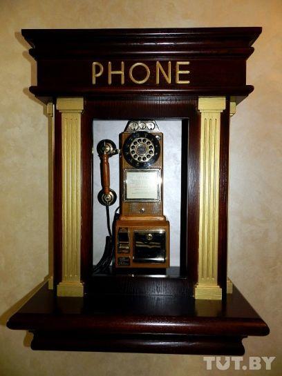 Телефон в стиле XIX века - работает!