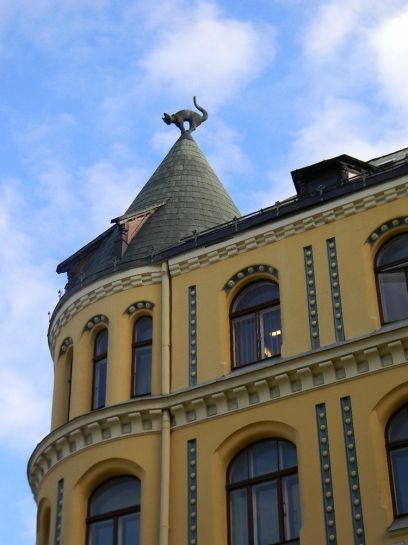 Рига. Фото Павла Добровольского. Октябрь 2012
