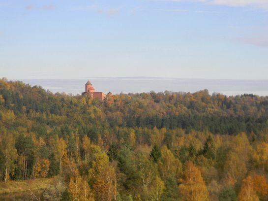 Сигулда-Турайда. Фото Павла Добровольского. Октябрь 2012