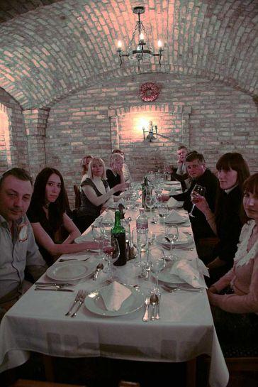 Ужин в ресторане Schieszl