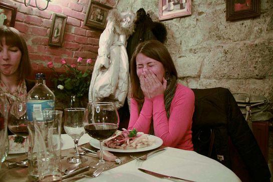 В ресторане Remete, г. Вац