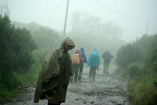 Первый день - первый ливень Кения 2011