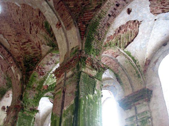 Современное состояние храма в Островно