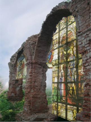 Перспективная реконструкция Гольшанского замка