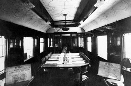 штабной вагон