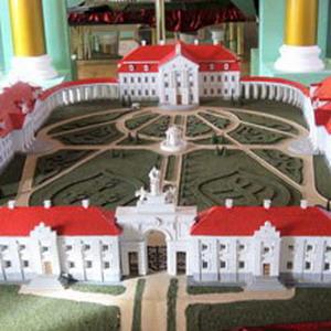 Макет Ружанского замка