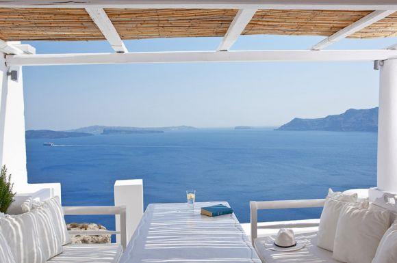 Villa Katikies на греческом острове Санторини - 2