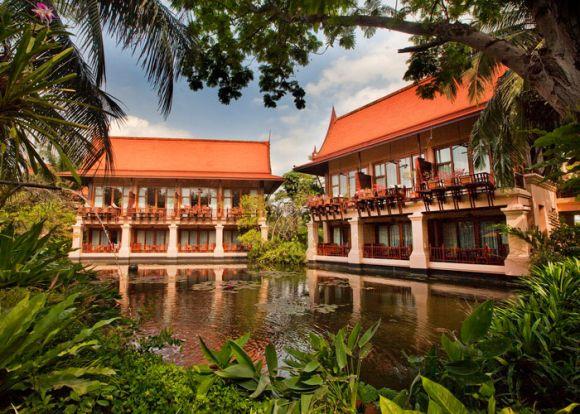 Resort lagoon area-- 9