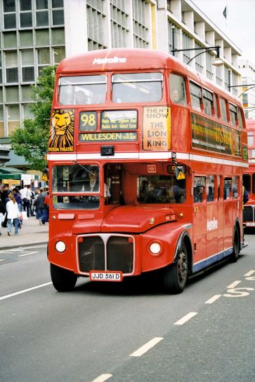 Лондон автобус