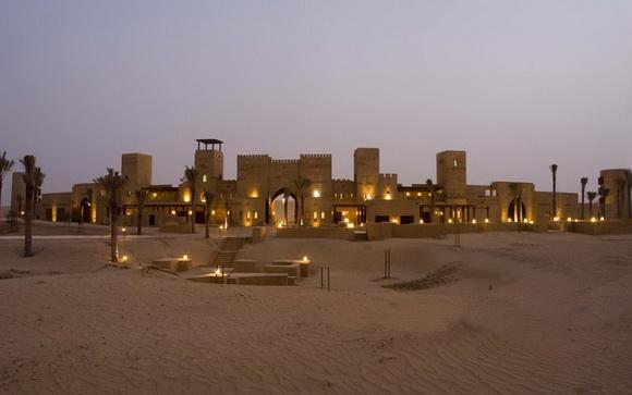 Al Sahra Desert Resort exterior