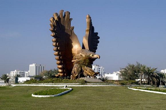 east coast eagle rounabout fujeirah